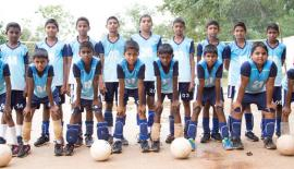 The champion St. Mary's College Veyangoda squad: Front row from left:  Kaveesha Ranketh, Vidhura Dheneth, Manuja Sathsara, Janindhu Theekshana, Pathmika Bhashvara, Aruna Pabasara, Hesandhu Savanjith and Ranindhu Dheshan. Back row from left: Kaveesha Nimsara, Sanjana Nuwantha, Senura Dhamsara, Rashmika Shehan, Kasun Sandheepa, Aadhitha Kalana, Anuhas Bandara, Chamodh Kalhara and Yalan Sasindhu