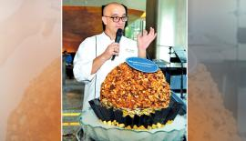 Executive Chef Robert Mujagic  Pic: Shan Rambukwella