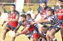 Action from the CR & FC Vs Navy Rugby encounter                                                                                          Pic : Thilak Perera