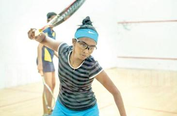 Mihiliya Methsarani in action (Pic: papare)