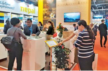 The wellness tourism stall