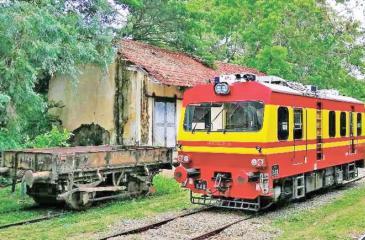 Railway Trolley Car