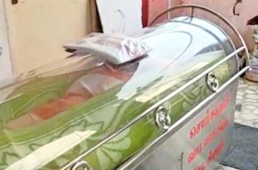 Balasubramanyam was put in a mortuary freezer after he was mistakenly declared dead