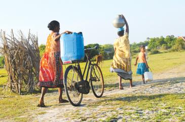 The value of water is about much more than its economic value – water has enormous and complex value for our households, food,  culture, health, education, economics and the integrity of the natural environment. Pic: Wimal Karunathilaka