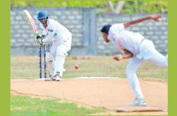 A match in progress at the Mallakam ground