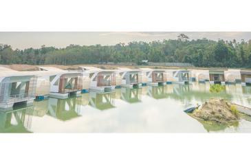 The Bolagala floating agro tourism resort