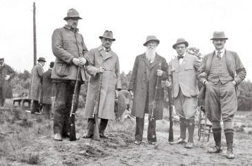 The Oldest Olympian and Oldest Olympic Medalist, Oscar Swahn (centre)