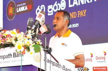 Sampath Bank Managing Director Nanda Fernando