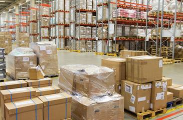 File picture of a bonded warehouse.