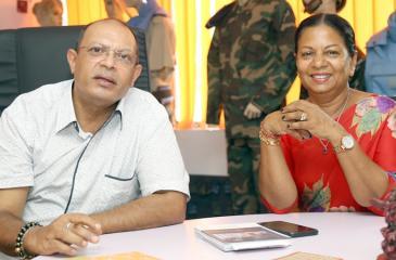 Ajitha and Himani Wijetunge