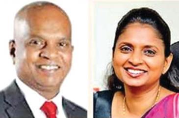 Co-chairpersons B. Premalal and Sandamini Perera