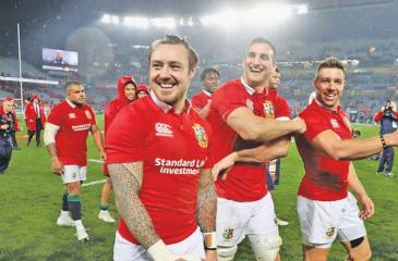 The British and Irish Lions announce their long awaited tour of South Africa