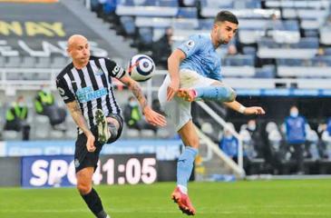 Ferran Torres super special back kick goal helped City establish an English league record of 12 successive away victories