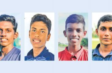 Mihiranga Fernando-Pulasthi Atapattu-Denuwan Jayawardena-Vishwa Lahiru