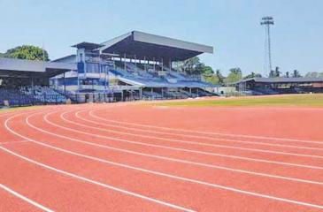 The Sugathadasa stadium the venue for the Nationals