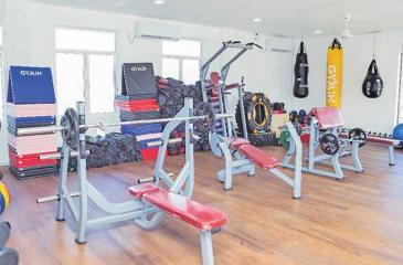 Fitness equipment to entice their followers