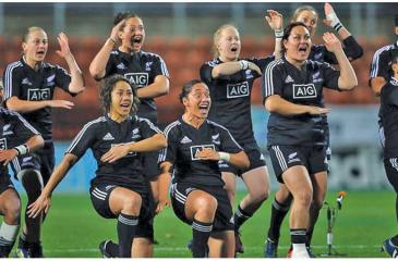 The New Zealand women's rugby team