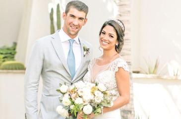Michael Phelps and his wife Nicole Phelps