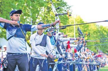 Sajeev de Silva the archer