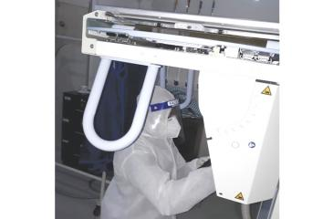 DIMO's healthcare service team continues servicing amid the pandemic to ensure smooth functioning of medical equipment.