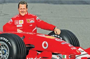 Michael Schumacher: A champion career cut short after a skiing accident in the French Alps in 2013