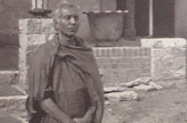 Anagarika Dharmapala at Das Buddhistische Haus as a guest of Dr. Paul Dahlke (circa 1925)