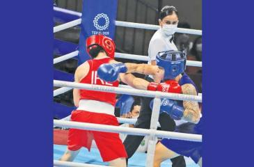 Nelka Shiromala was the queen of the ring at the Tokyo Olympics