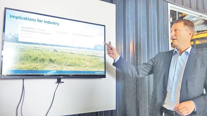 Sustainable technological solutions for industries Pix: Chandani Jayatilleke