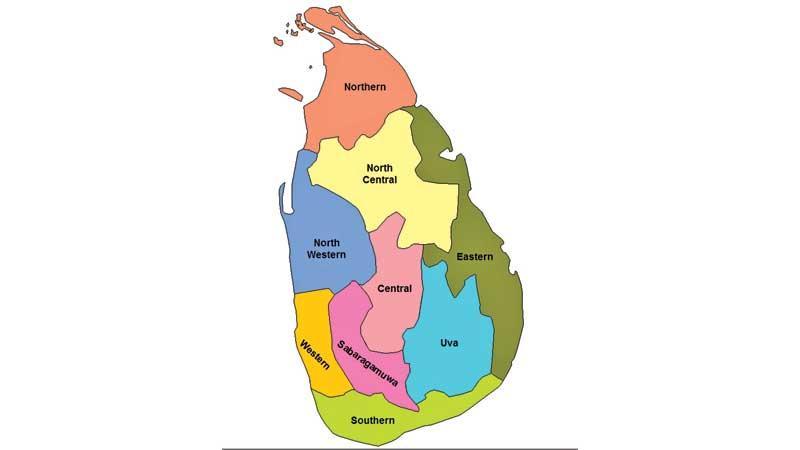 Provinces in Sri Lanka