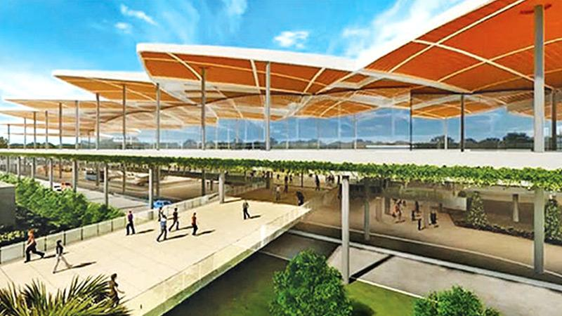 The proposed Bandaranaike International Airport (BIA) Terminal-2 Project
