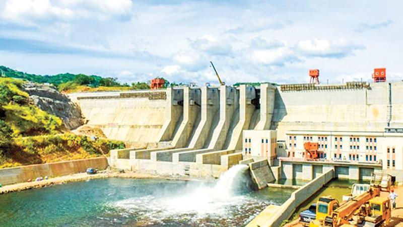 The Moragahakanda hydro-electricity plant