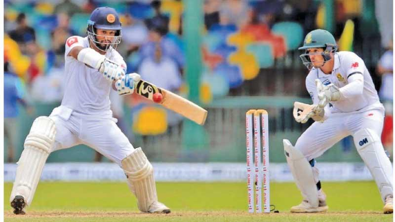 Dimuth Kurunaratne made the only century in South Africa not due to the team's foreign experts but thanks to him being the most experienced batsman in the Sri Lanka team