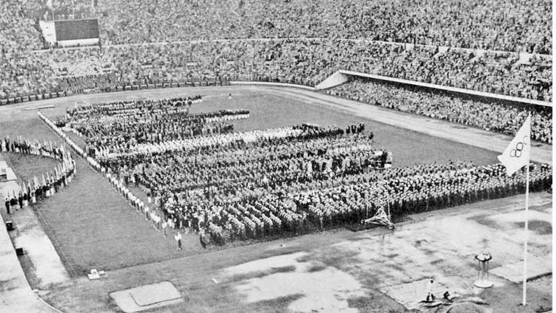 The Olympic Stadium Velodrome de Vincennes