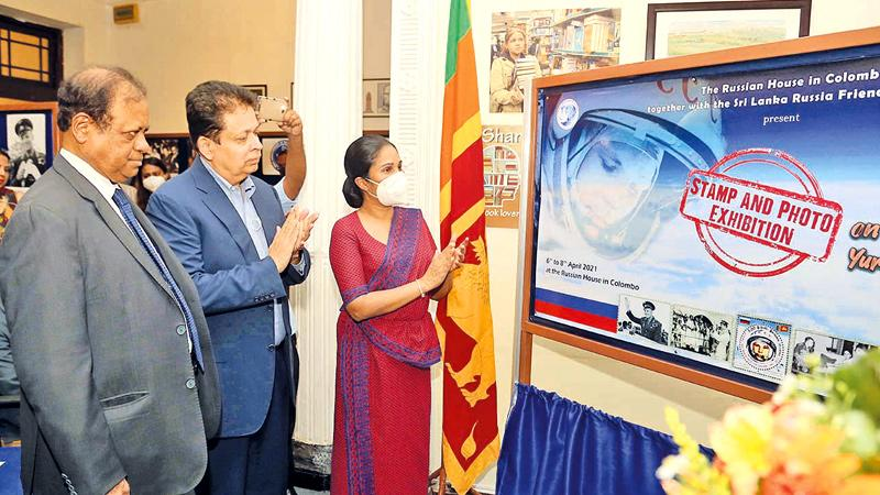 State Minister of Skills Development, Vocational Education, Research and Innovation Dr. Seetha Arambepola inaugurate the 60th anniversary celebrations of Yuri Gagarin's Space Flight and visit to Sri Lanka.