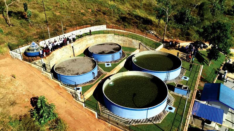 The Thalakolawewa rural water supply scheme