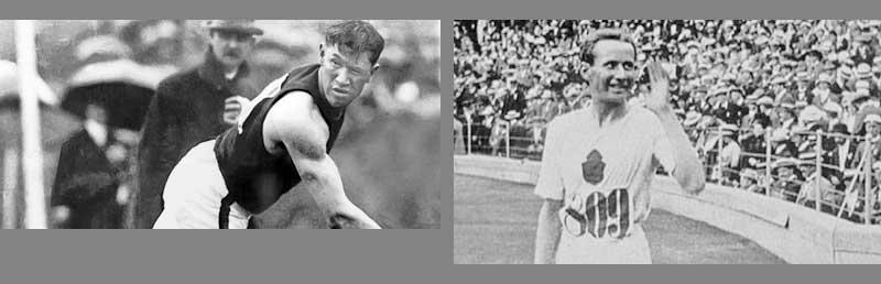 Jim Thorpe of the US won gold medals in pentathlon and decathlon-Hannes Kolehmainen of Finland was the most successful athlete