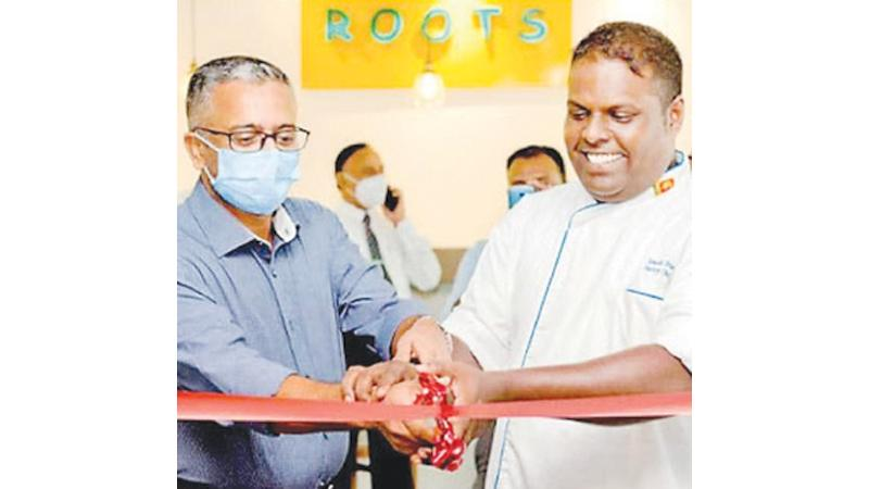 Chef Dimuthu Kumarasinghe and Executive Pastry Chef Janaka Dias, open The Brick Lane Coffeehouse.