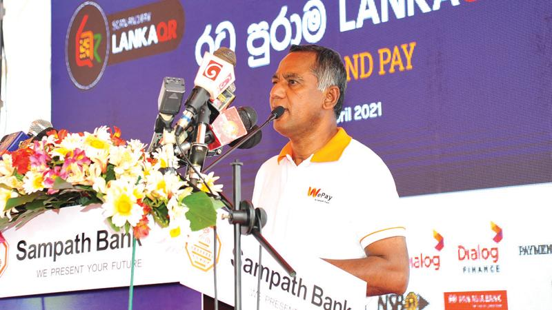 Sampath Bank Managing Director Nanda Fernando