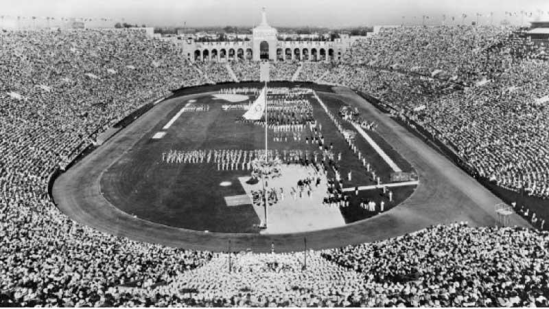 The Opening Ceremony of Los Angeles 1932