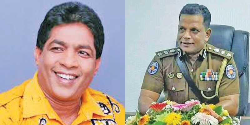 Rohana Dissanayake-SSP Kamal Pushpakumara