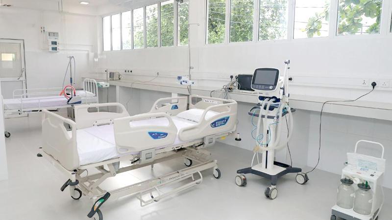 The ICU equipment