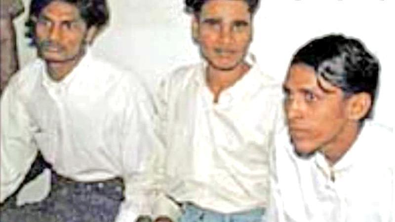 Ajith Fernando, Basil Mendis and Chaminda Kumara