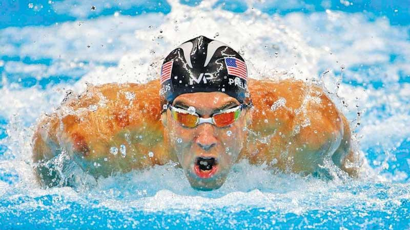 Michael Phelps secures 23 Gold Medals and 28 podium finishes