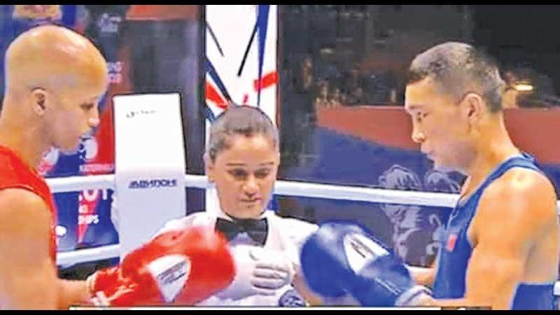 Nelka Shiromala brings together two rivals before a fight
