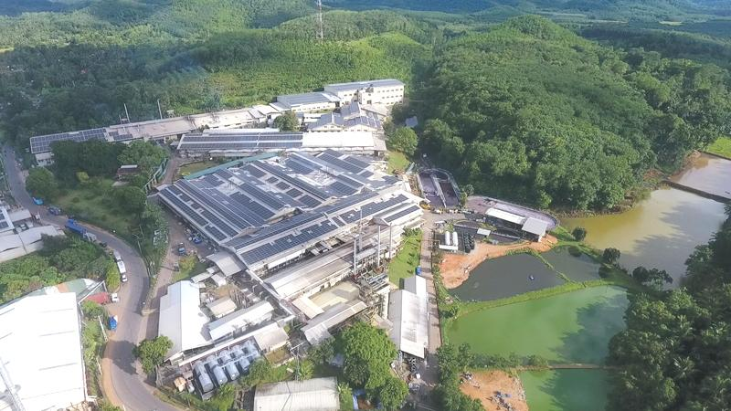 The manufacturing facility in Horana