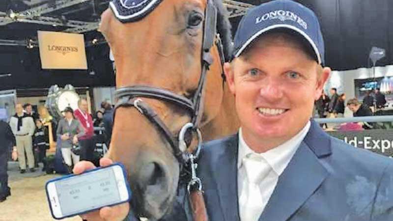 Jamie Kermond on his horse Yandoo Oaks Constellation