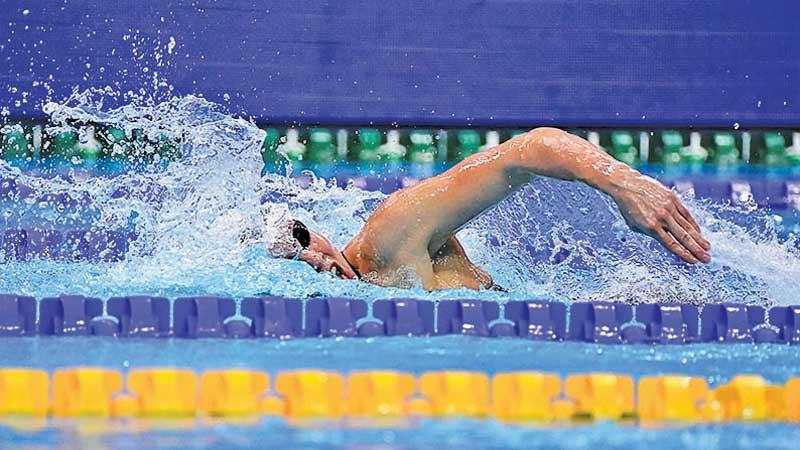 Swimming at an Olympics