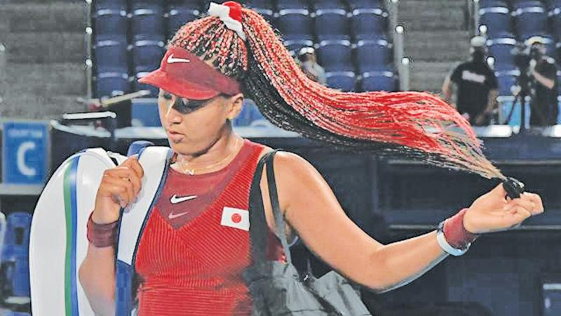 Naomi Osaka leaves the Tokyo Olympics with a humiliating defeat