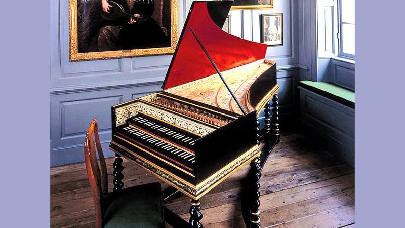 The Famous harpsichord