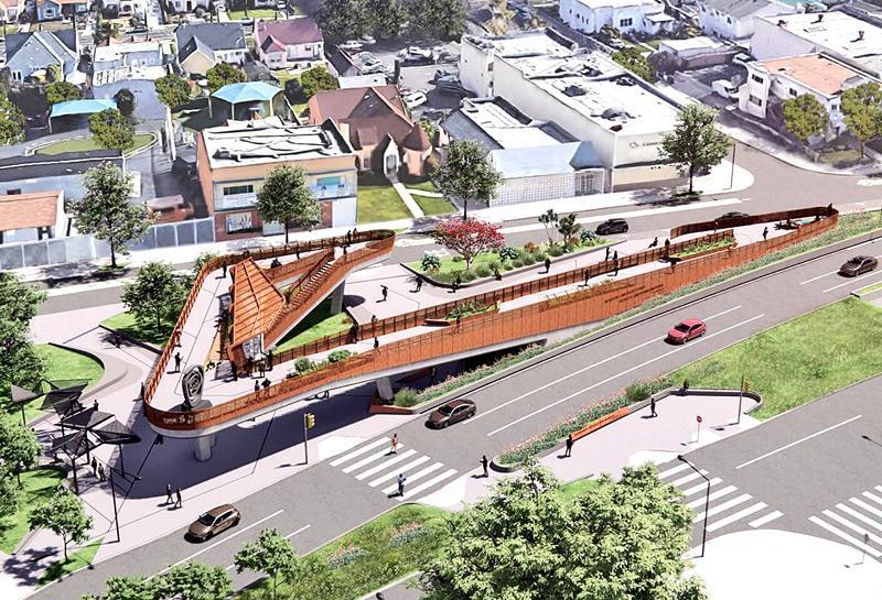 A rendering of Destination Crenshaw. Courtesy: Destination Crenshaw